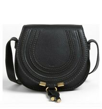 Chloe Marcie Mini Leather Crossbody Bag Black Retail $890