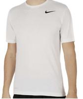 Nike Dri Fit Touch Ultra Soft Short Sleeve Men's T-Shirt White XXL XX-Large
