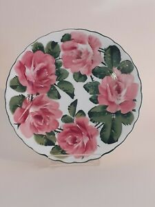 SUPERB EARLY SHELLEY WEMYSS SIDE PLATE c 1930