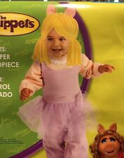 The Muppets Miss Piggy Costume Toddler (3T-4T)