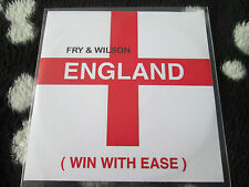Fry & Wilson ENGLAND ( Win With Ease) 746TP7DL PROMO Dance CD single