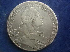 Madonnentaler  1755  Wappentaler Maximilian III. Josef Bayern W/17/770
