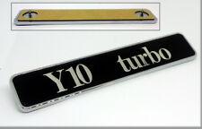 AUTOBIANCHI Y10 TURBO - SCRITTA FREGIO BADGE
