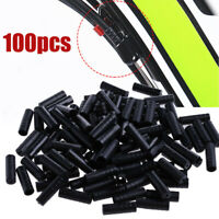 100Pcs Bike Bicycle Shift Cable End Caps Shifter Housing Wire Line Ferrules NEW