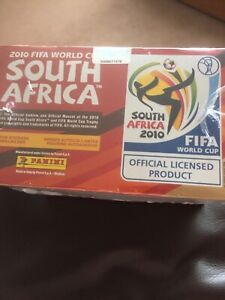 Panini 2010 World Cup Football Stickers Box 100 Packets