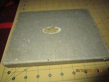 VINTAGE STERLING MATCH BOX HOLDER SAFE ashtray no MONOGRAM set