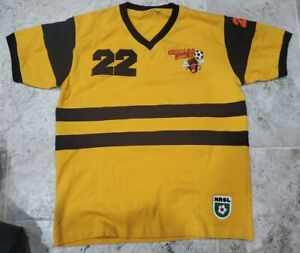 VINTAGE AND RARE 1970'S NASL CHICAGO STING DICK ADVOCAAT JERSEY MEN'S SIZE LARGE