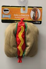 XXS HOT DOG COSTUME Wienie Food Plush Cat Pet Parade Halloween Miniature NEW