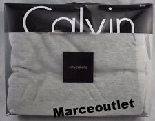 Calvin Klein Home Modern Cotton Body Jersey FULL / QUEEN Duvet Cover Gray