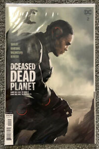 DCEASED DEAD PLANET #2 OLIVER HOMAGE CARD STOCK VARIANT 2020 DC COMICS 8/5/20 NM