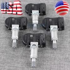 Set Of 4 For Volvo Tire Pressure Sensor Tpms 8g92 1a159 Ae 433 Mhz Set Ts64