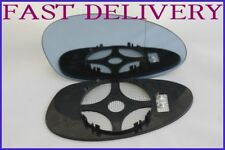 BMW M3 E46 CS 2001-2006 REPLACEMENT DOOR MIRROR GLASS BLUE TINTED HEATED RIGHT