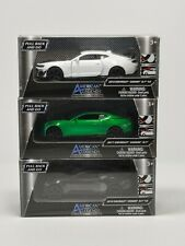 American Legends DieCast 2017 & 18 Chevy Camaro ZL1 Black Green & White Lot of 3