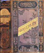 1870S SIR WALTER SCOTT WAVERLEY ILLUSTRATED SCOTLAND CLASSIC DELUXE EDITION GIFT