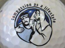 (1) Compassion As A Lifestyle Church Religion Logo Golf Ball