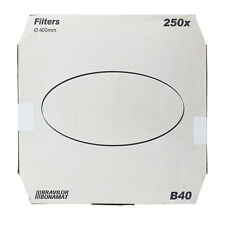 Bonamat Bravilor B40 Flachfilter Original 400 mm, 250 Stk, Kaffeefilter