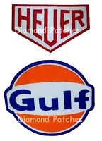 GULF Patch Gulf Oil Patch HEUER Patch CHRONOGRAPH HEUER Patch Iron on PATCH