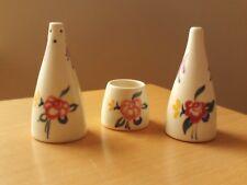 VINTAGE Floreale Poole Pottery Sale, Pepe e Senape pentola.
