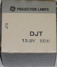 General Electric Djt 50 Watt 13.8 Volt Gx5.3 Microfilm Projection Lamp Bulb