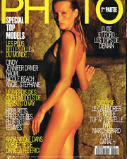 French PHOTO #306 Top Models ESTELLE HALLYDAY LEFEBURE Cindy Crawford SIBYL BUCK