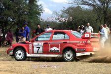 Tommi Makinen Mitsubishi Lancer Evo 6.5 1000 Lakes Rally 2001 Photograph 3