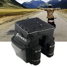 Waterproof 600D Bicycle Pannier Rear Seat Bag Bike Cycle Tail Rack Storage Pouch