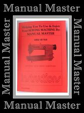 Brother DB2 - B755 Industrial Sewing Machine Owner manual Booklet (No Machine*)