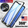 For Samsung Galaxy Note 10 Pro 360° Magnetic Adsorption Double Sided Glass Case
