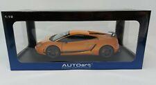 1:18 AUTOart Lamborghini Gallardo LP570-4 Superleggera - Orange - 74656 - BOXED