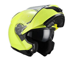 Nzi - casco modular combi duo Graphics Fluo Yellow amarillo S