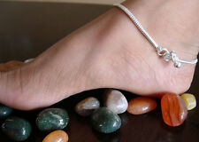 Pair Snake Chain Minimalist Anklet Bracelet Beach Hot Fashion Jewelry Boho Gypsy