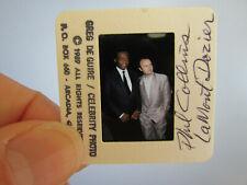 More details for original press photo slide negative - phil collins & lamont dozier - 1989
