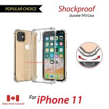 "For 2011 Apple iPhone 11 6.1"" Gel Case Bumper Shock Absorbing TPU Phone Case"