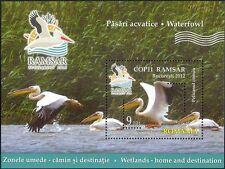 Rumania 2012 humedales Ramsar// pelícanos/Naturaleza/Aves/Conservation 1 V M/S (n44721b)