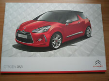 Citroen DS3 range brochure Jul 2011