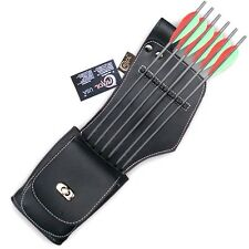 CAROL SYNTHETIC LEATHER SIDE/HIP ARROW QUIVER SAQ142 L/H