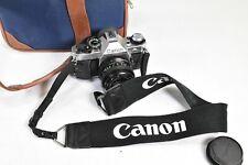 Canon AE-1 Program 35mm Film Manual Camera w/ 50mm 1.8 Excellent Condition