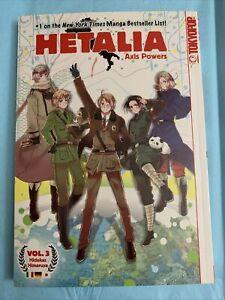 Hetalia Axis Powers Manga Volume 3 By Hidekaz Himaruya