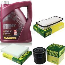 5L MANNOL 5W-30 Combi LL+MANN-FILTER Filterpaket Toyota Yaris 1.0