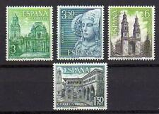 A7780) SPAIN 1969 Scott#1581/84 MNH** Tourism 4v