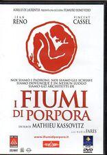 I FIUMI DI PORPORA - DVD (OTTIME CONDIZIONI)