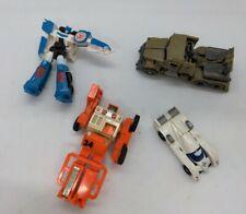 Vintage Spoons MR-34 Bandai 1984 GoBots forklift transformers plane car Lot Rare