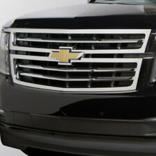 2015-2018 Chevy Suburban Tahoe Front Grille Chrome W/Bowtie Logo New 23320672