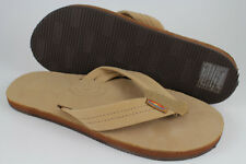 9a8991f90628 Rainbow Sandals Premier Leather Single Layer Sierra Brown 301alts US Mens  Sizes