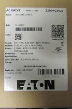 EATON CUTLER HAMMER MMX11AA1D7N0 0 Frequency Drive .33 HP 100 120V AC Inverter