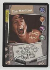 1996 X-Files Collectible Card Game Premiere Expansion Set #NoN The Manitou 0f6