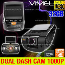 Twin Camera Dashcam 32GB In Car Recorder B40 A118 v.2 CrashCam Blackbox 1080P
