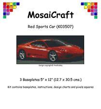 MosaiCraft Pixel Craft Mosaic Art Kit 'Red Sports Car' Pixelhobby