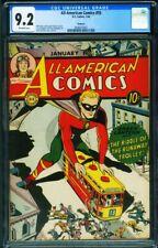 All-American Comics #55 CGC 9.2 HAWKEYE PEDIGREE Green Lantern 0046077007