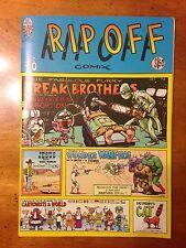 RIP OFF Comix #8 Rare VF/NM High Grade 1981 1st Ed Rip Off Press
